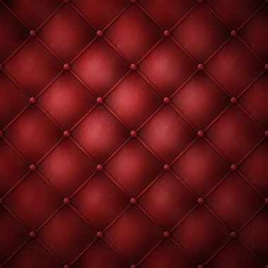 Genuine red leather texture