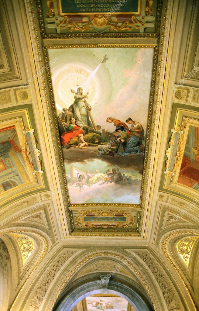 Interno Museo Vaticano Foto Stock Kvkirillov 9397728