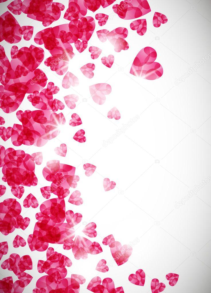 Valentine background clipart vector