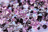 Small purple gem stones, luxury background shallow depth of fiel