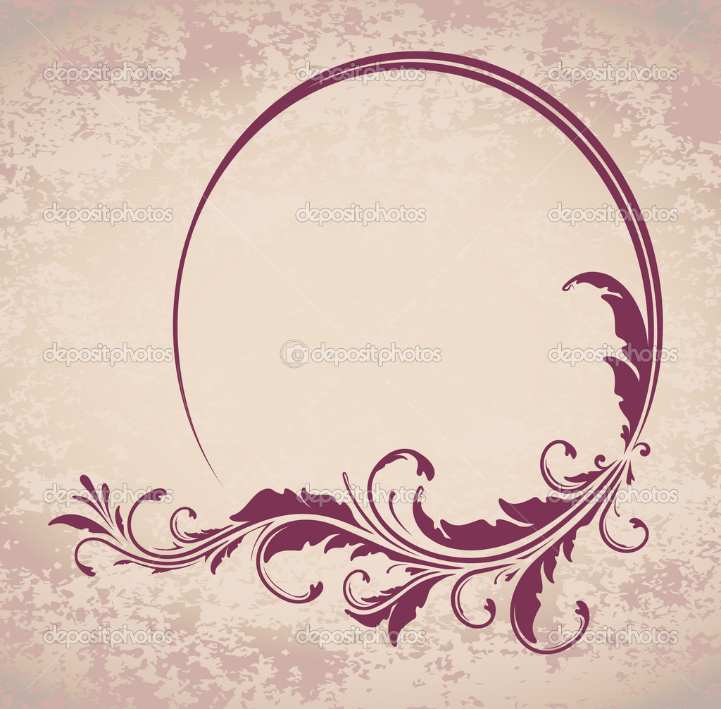 elegante ovale rahmen — Stockvektor © antonshpak #8858225