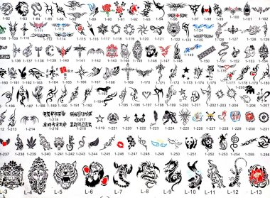 Tattoo Catalog of Designs