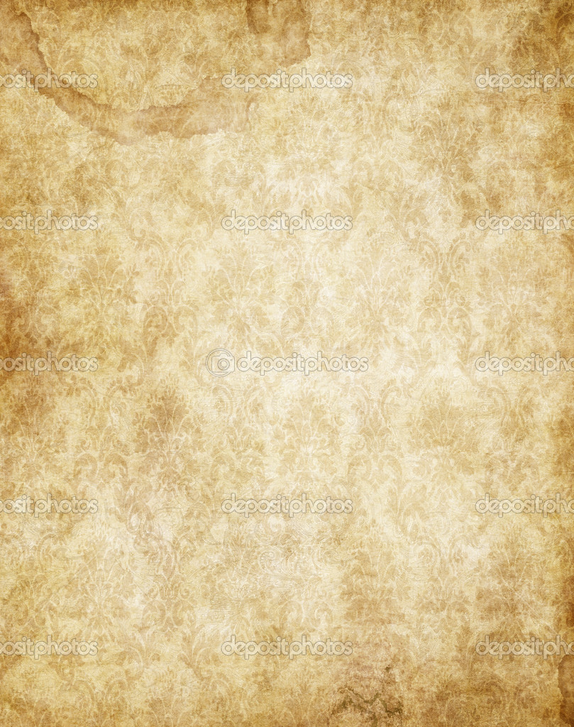 old yellow brown vintage parchment paper texture stock photo