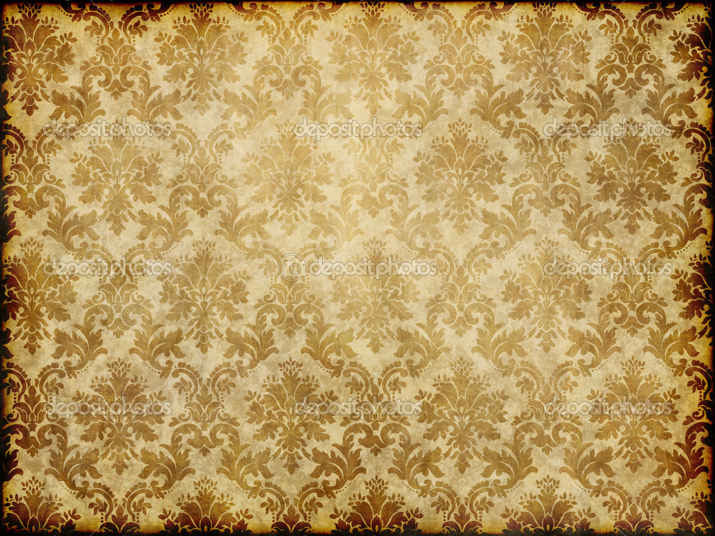 Vintage damask wallpaper stock photo clearviewstock 9271105 - Papier peints vintage ...