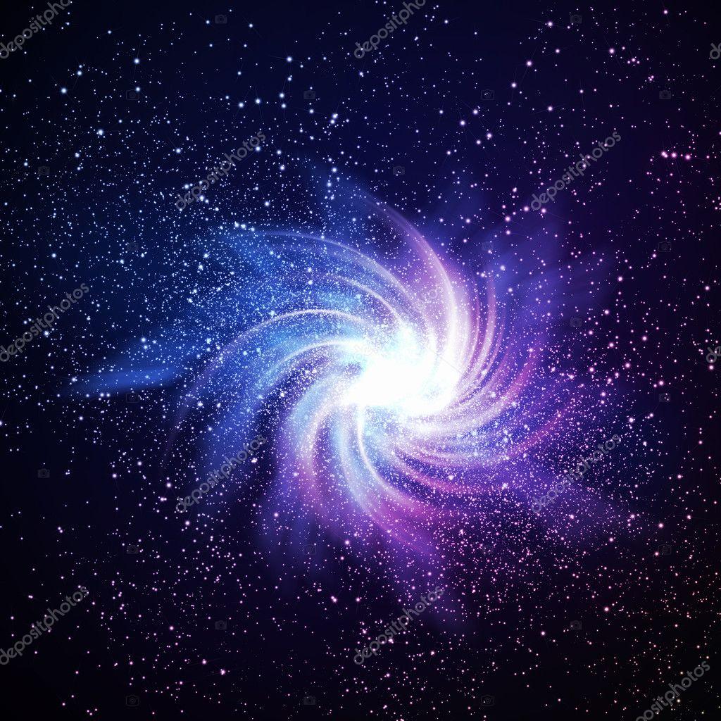 colorful galaxy stars - HD