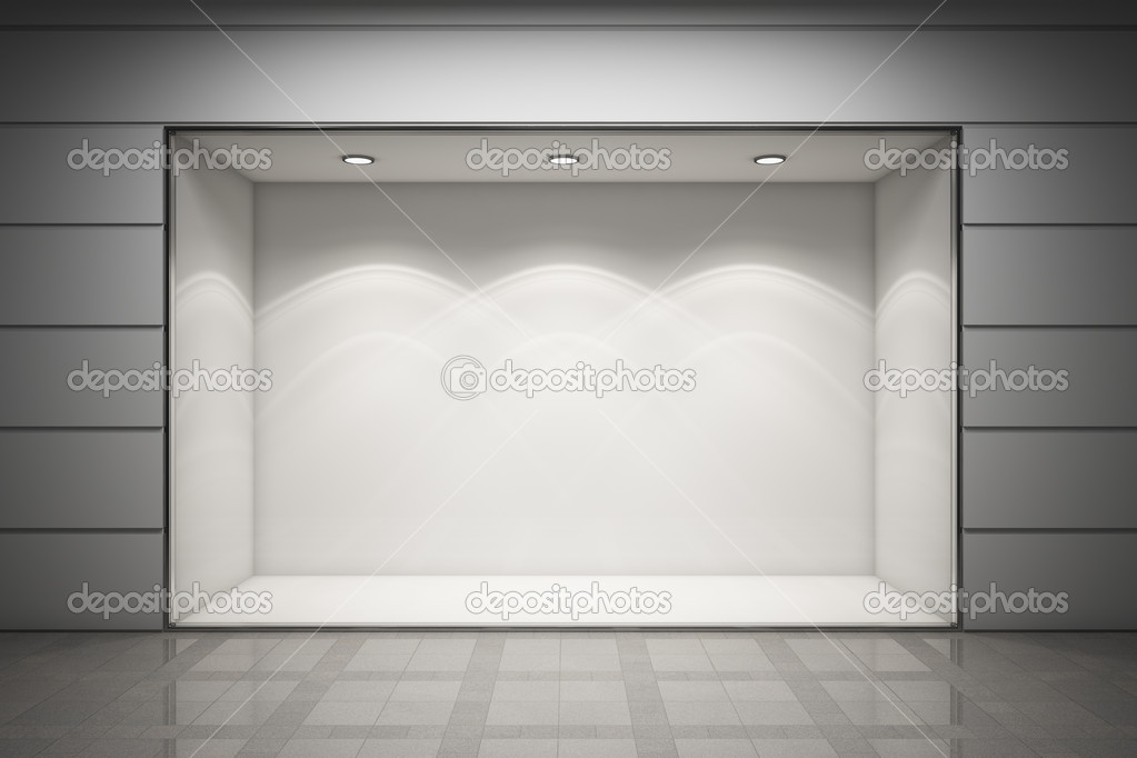 An empty storefront