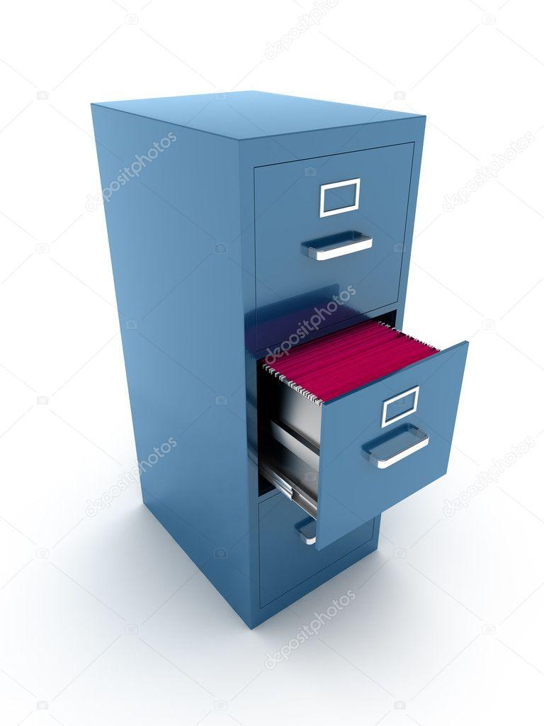 gabinete de archivo — Foto de stock © Shenki #10160861