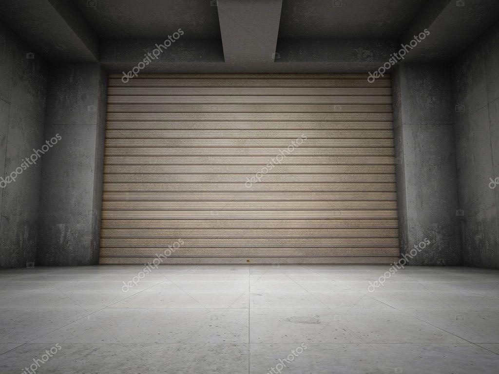 Garage vuoto foto stock shenki 7987417 for Disegni di addizione garage