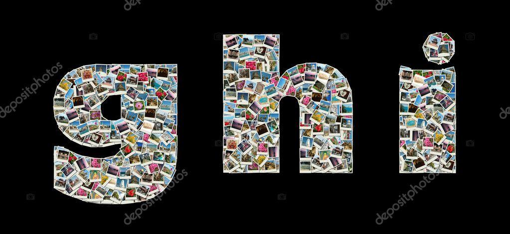 Фоторедактор буквы из фотографий