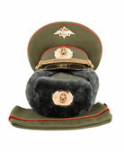 Russian army officers caps