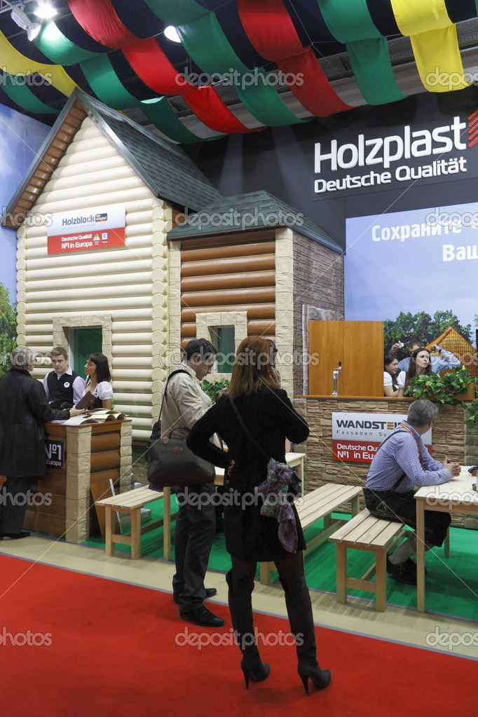 International Exhibition MosBuild-2011 – Stock Editorial Photo