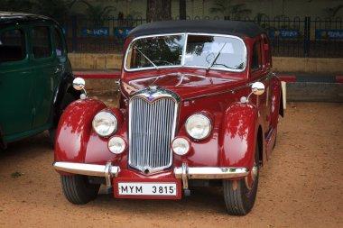CHENNAI - INDIA - JULY 24: Ryley (retro vintage car) on Heritage