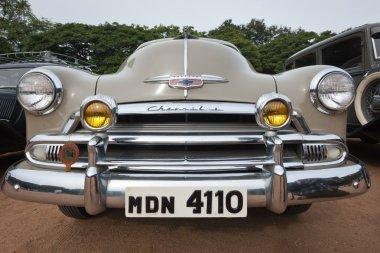 CHENNAI - INDIA - JULY 24: Chevrolet (retro vintage car) on Her