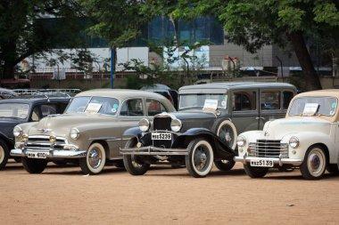 CHENNAI - INDIA - JULY 24: Vauxhall Velox 1951, Dodge 1931 and