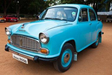 CHENNAI - INDIA - JULY 24: Ambassador (retro vintage car) on Her