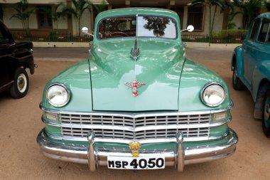 CHENNAI - INDIA - JULY 24: Chrysler (retro vintage car) on Herit