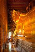 Fotografie liegender Buddha, thailand