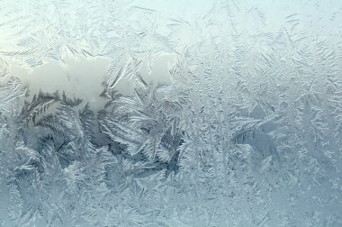 Frozenned glass