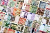 peníze z různých zemí