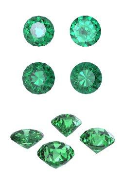 Round emerald