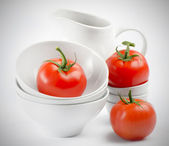Healthy food - fresh tomatoes