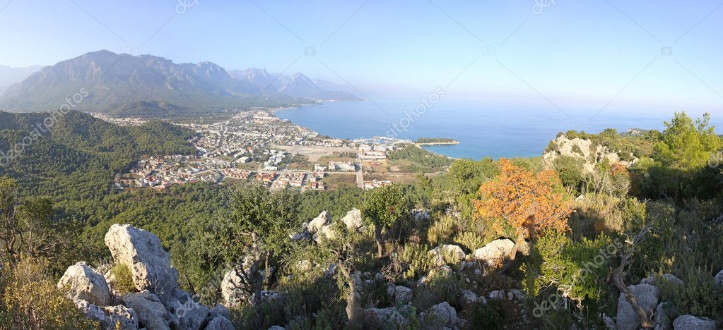 Kemer city, Mediterranean seacoast, Turkey