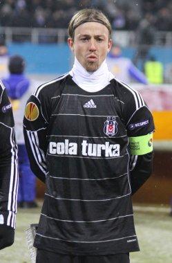 Jose Maria Gutierrez Hernandez (Guti) of Besiktas
