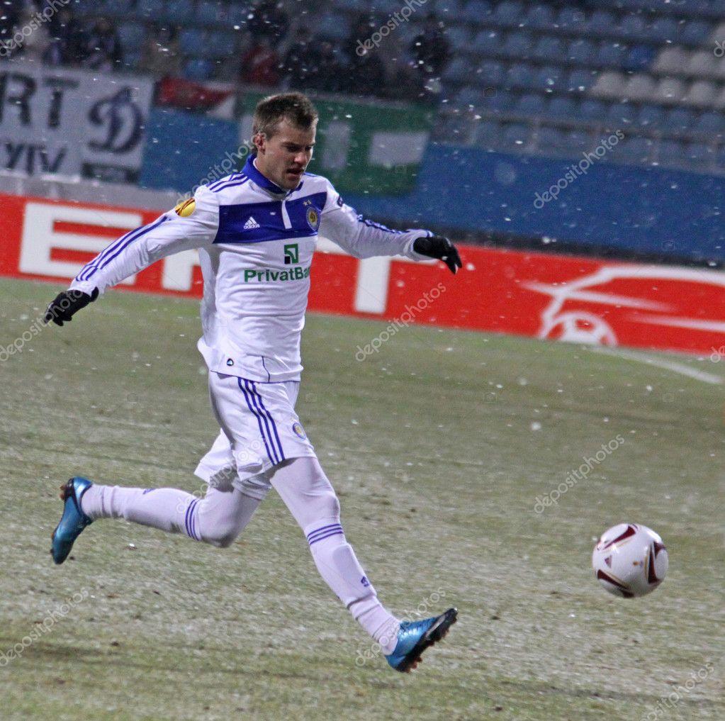 Andriy Yarmolenko of Dynamo Kyiv – Stock Editorial