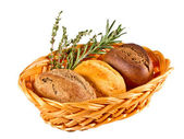 Ciabatta domácí italský chléb s rozmarýnem