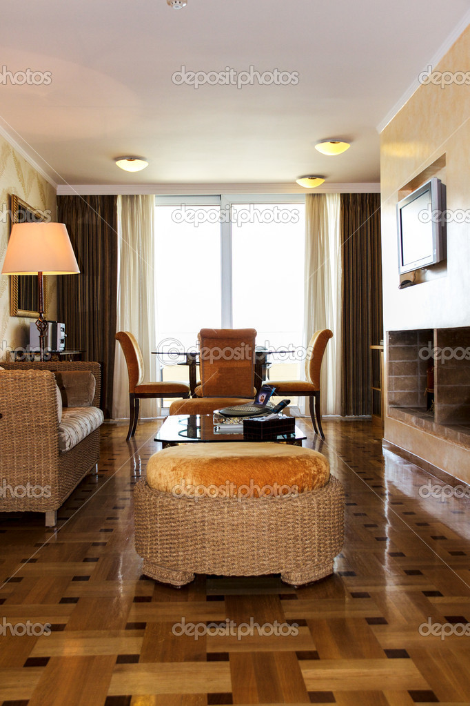 interieur des zimmers hotel — Stockfoto © AndreySt #9910313