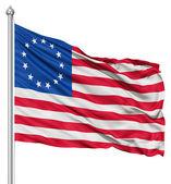 Photo Waving Flag of Betsy Ross