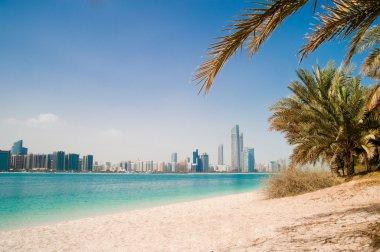 Gulf coast in Abu-Dhabi