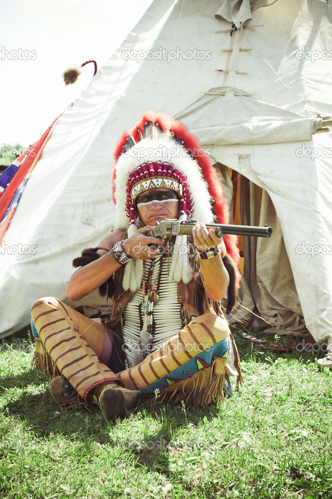 Rande s indiánem