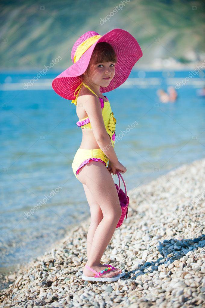 Fashionable on the beach