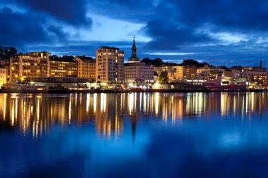 Bergen city in Norway