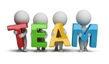3d small - team