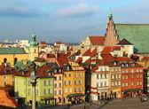 Fotografia Varsavia piazza, castello, Polonia