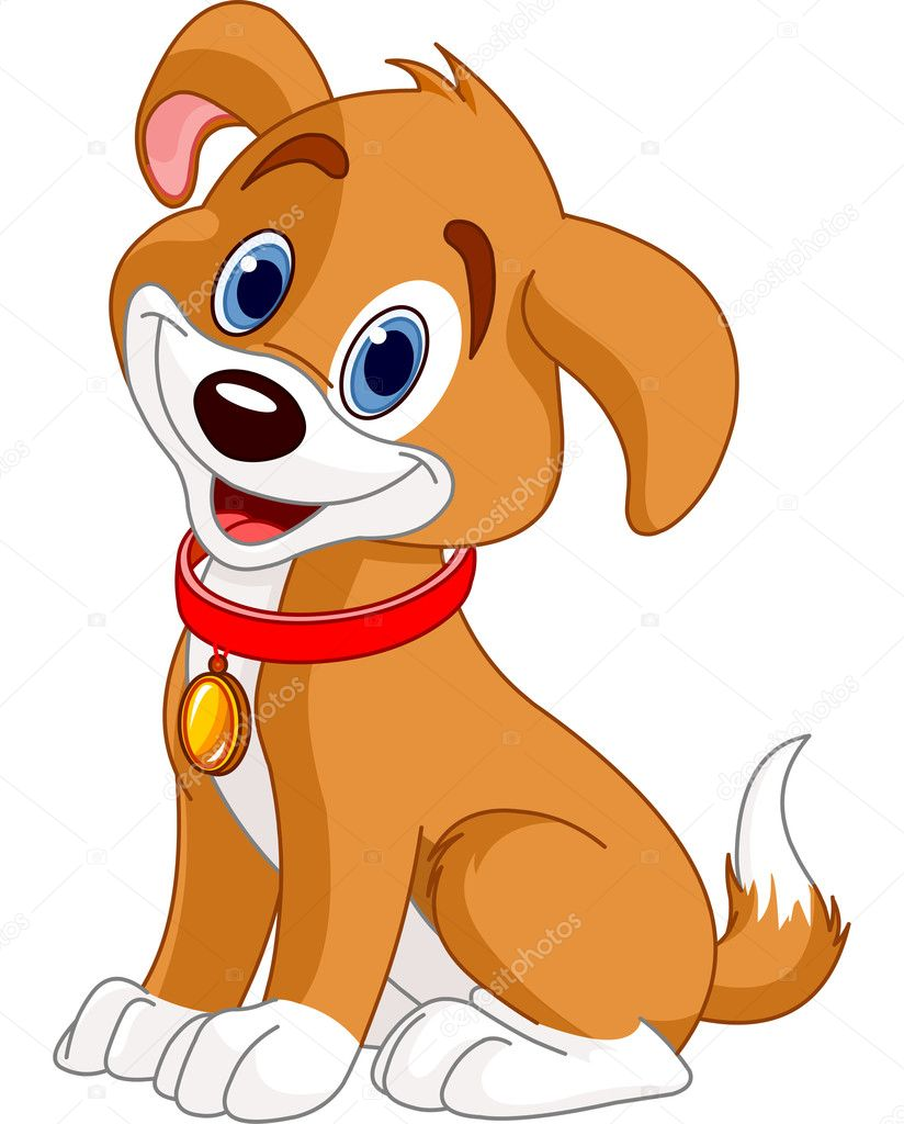 Cute Dog Vector Image By C Dazdraperma Vector Stock 10659058
