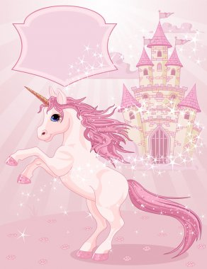 Fairy Tale Castle and Unicorn