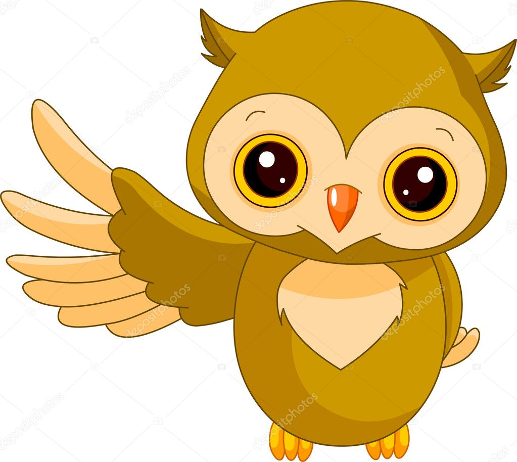 Fun zoo. Owl
