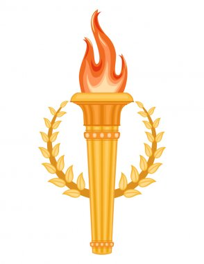 Greek Olympic Torch
