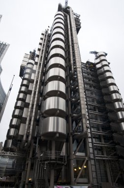 View Of The Lloyd's Building In London, England, United Kingdom