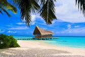 Fotografie Tauchclub auf einer tropischen Insel