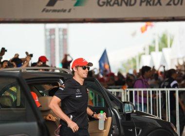 SEPANG, MALAYSIA - APRIL 10: Jenson Button (team McLaren Mercede