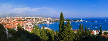 Panorama of Split, Croatia