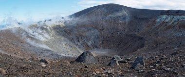 Grand (Fossa) crater of Vulcano island near Sicily, Italy