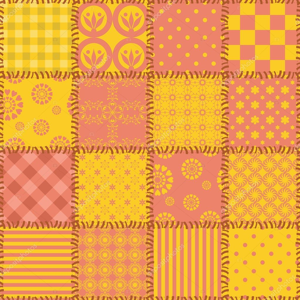 patchwork background patchwork background with different patterns stock 4147