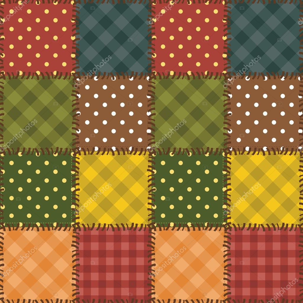 patchwork background patchwork background with different patterns stock 8442