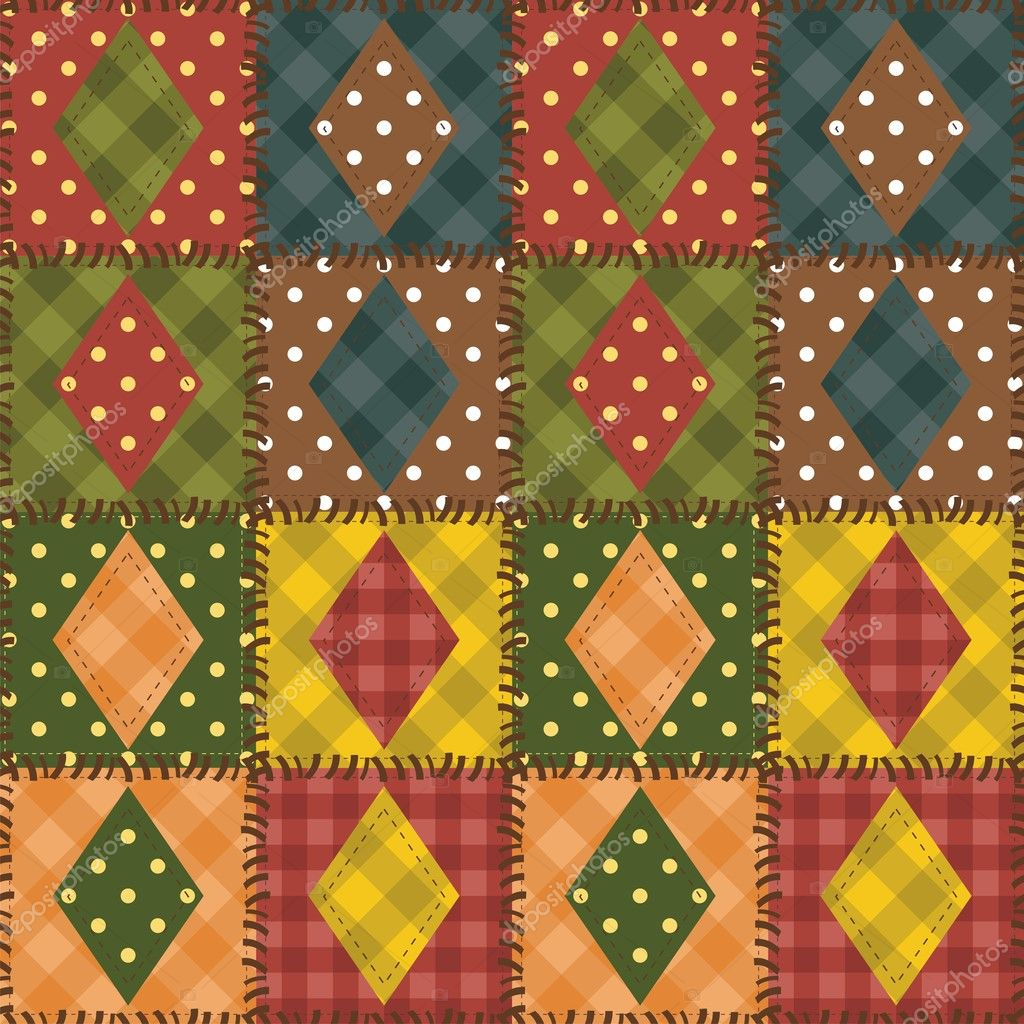 patchwork background patchwork background with different patterns stock 5392