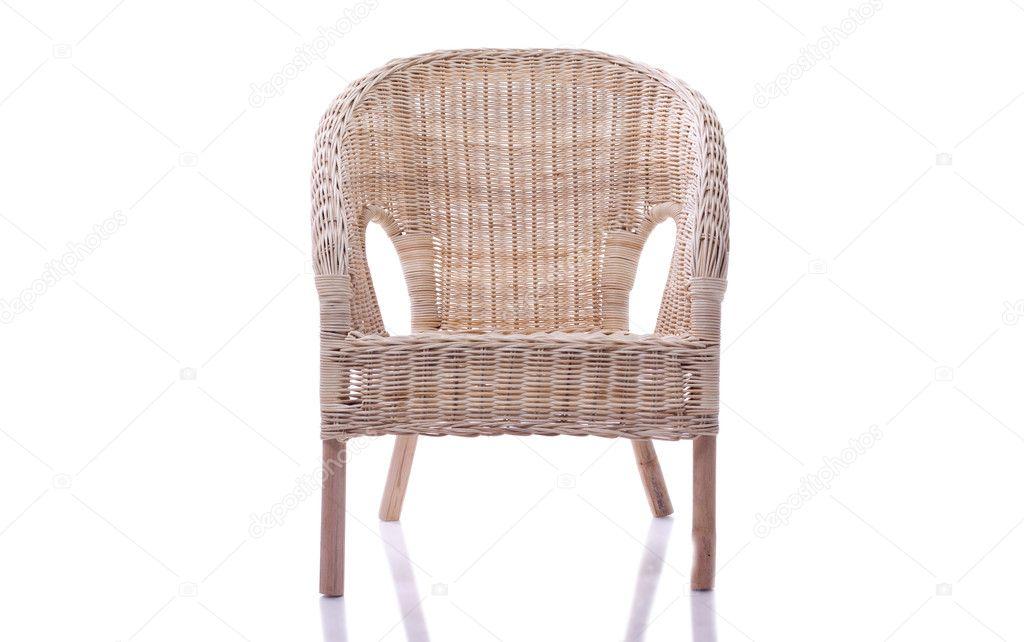 Zwarte Rieten Stoel : Rieten stoel u2014 stockfoto © alexsmith #9395157
